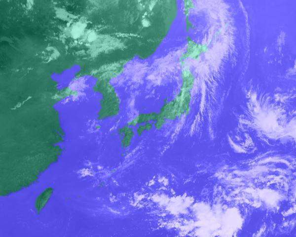 2016年07月28日12時 衛星雲画像