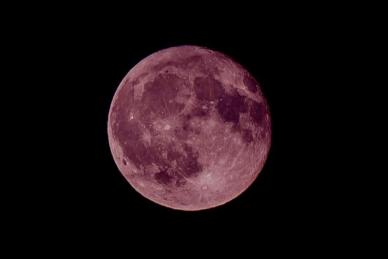 最小の満月(ストロベリームーン