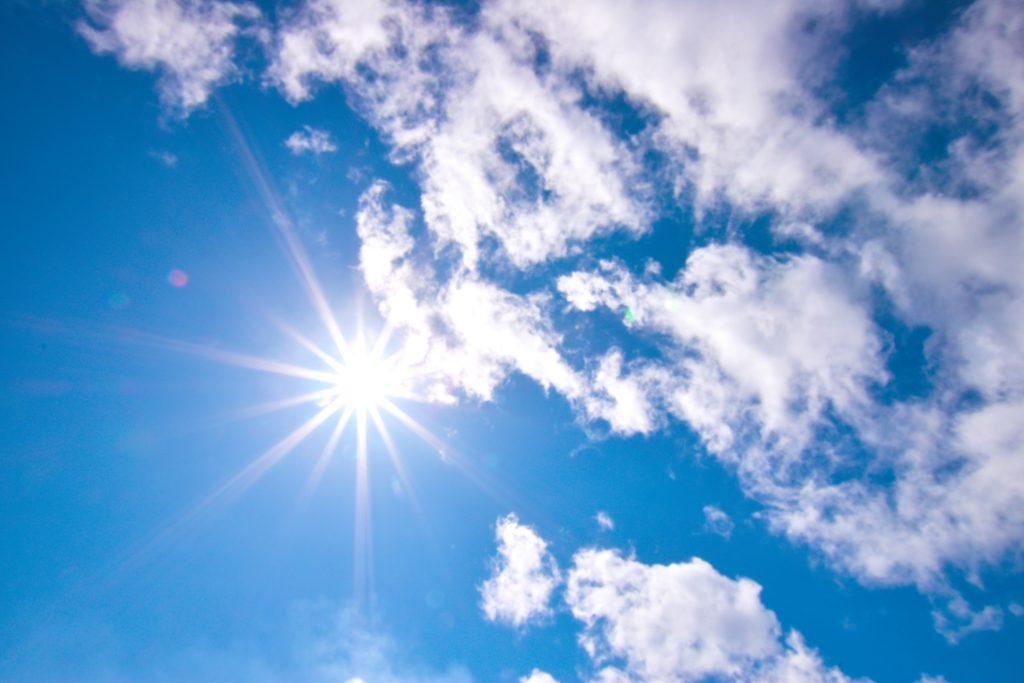 「晴れ」「曇り」「快晴」とは?定義は?