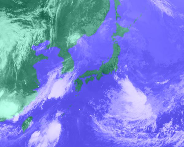 2016年07月18日11時 衛星雲画像